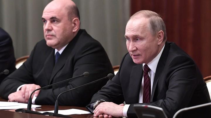 До выборов - 18 месяцев: Bloomberg за правительство Мишустина рассказало о целях русских министров