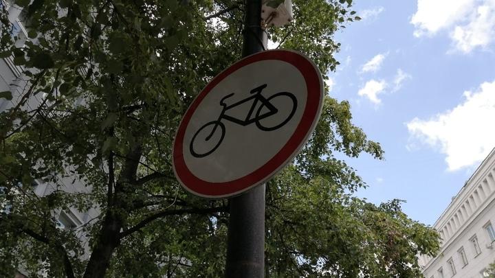 Под Челябинском ищут велосипедиста, который напал на девочку