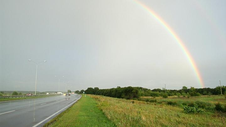В ближайшие дни над Свердловской областью прольются дожди