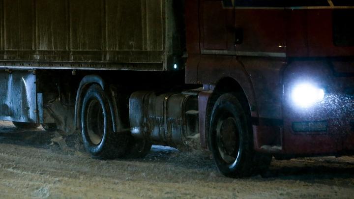 В Екатеринбурге спасли дальнобойщика который полмесяца жил в сломавшейся фуре