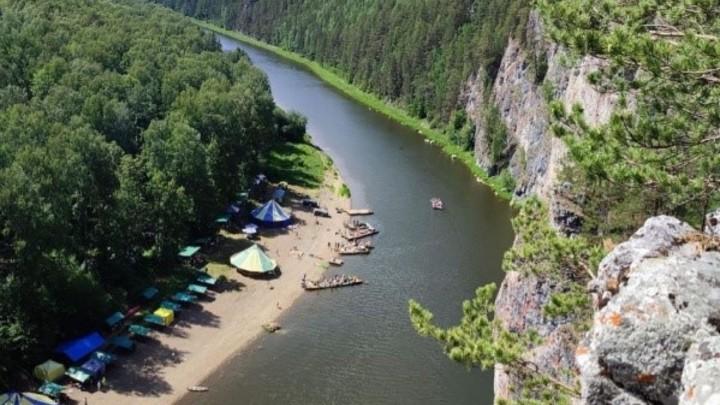 На Урале утонул подросток, пытаясь переплыть реку Чусовую