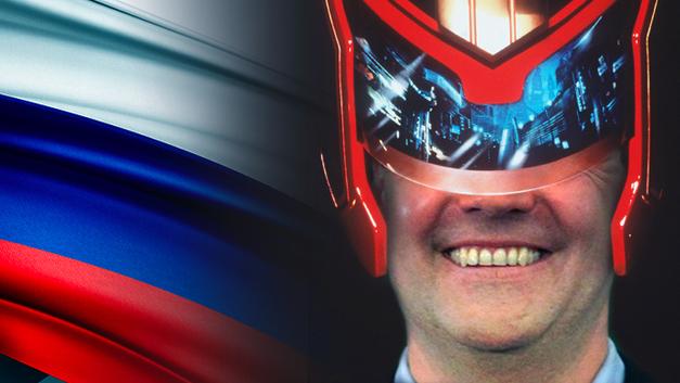 Новейший «Судья Дредд»: Дмитрий Медведев анонсировал «Эру судов»