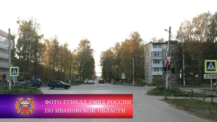 В Ивановской области 22-летний лихач сбил на светофоре ребенка