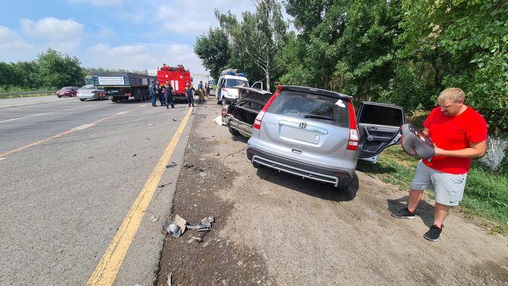 В Ростовской области на трассе М-4 «Дон» пенсионер устроил смертельное ДТП