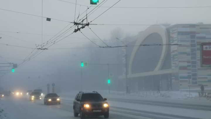 На улице делать нечего: В Новосибирске объявлен «режим чёрного неба»
