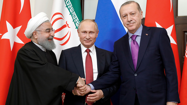 Сирию спасли мы. Но делить мир придётся с другими