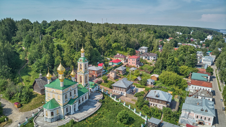 Плес — выездная Рублевка Ивановской области