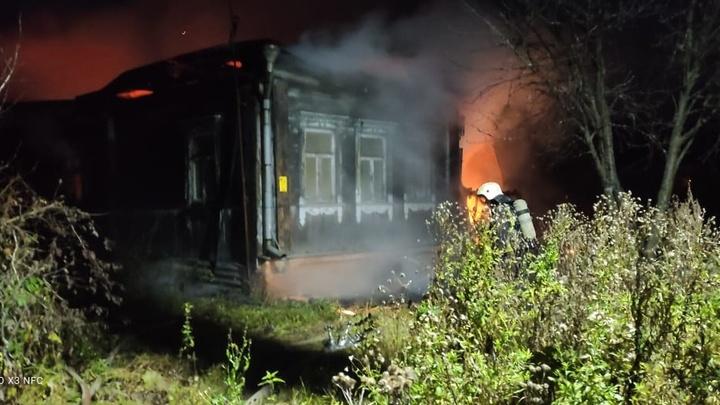 В Суздальском районе в огне погибла женщина