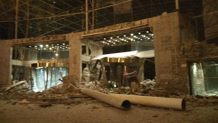 Из обрушившегося в Китае отеля эвакуировали только четверть постояльцев