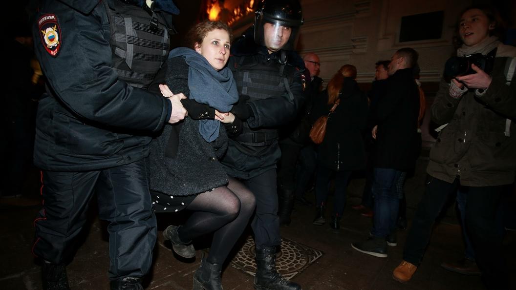 Одиозную активистку Марию Алехину отправили на исправительные работы