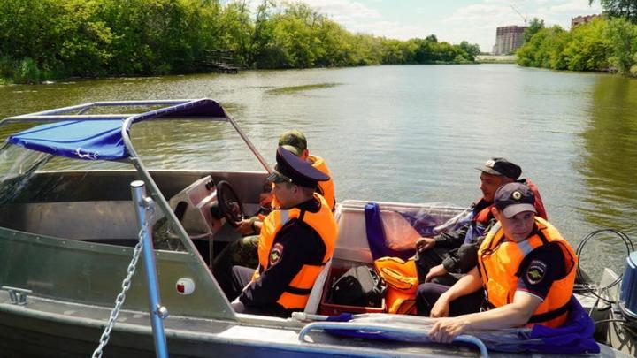 В Кургане появился полицейский катер для патрулирования на реке Тобол