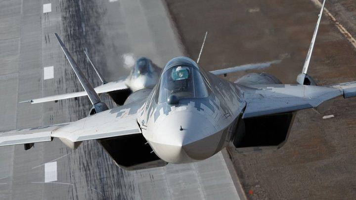 Воздушный снайпер Су-57 сможет использовать уязвимости самолётов США - NY