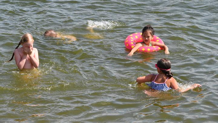 Где можно купаться и какая температура воды в Подольске