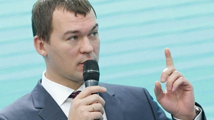 Зачем на митинге топор? Дегтярёв сделал обращение к народу в прямом эфире