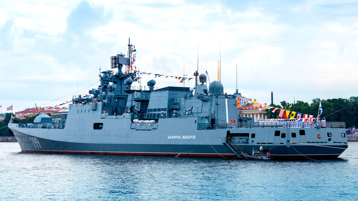 Новейшие фрегаты ВМФ России прикроют Чёрное море