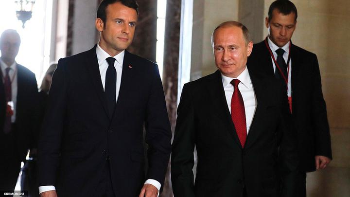 Песков рассказал о следующей встрече Путина и Макрона