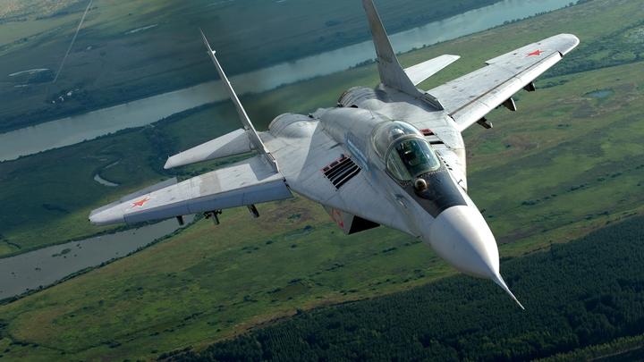 В Сирии заметили новейший российский истребитель МиГ-29СМТ