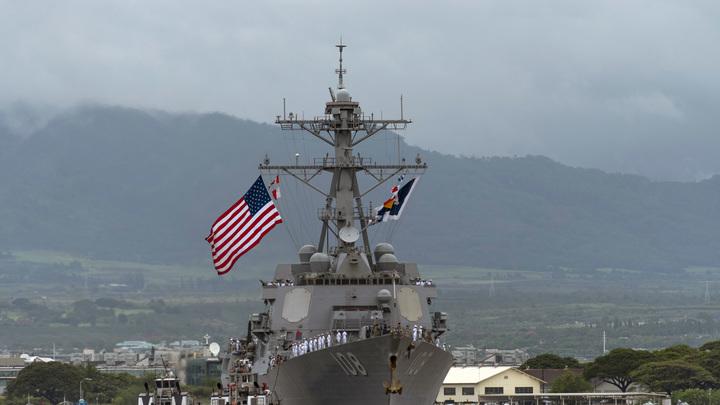К балтийским берегам России направляется ракетный эсминец ВМС США