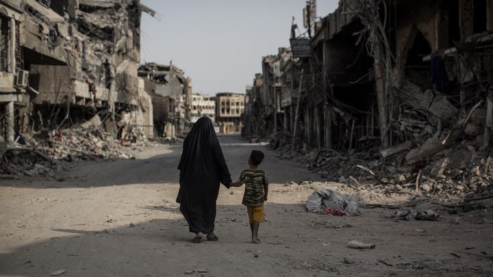 Обнародован полный список российских женщин с детьми, найденных в лагере Мосула