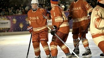 Владимир Путин выйдет на лед вместе со сборной России по хоккею