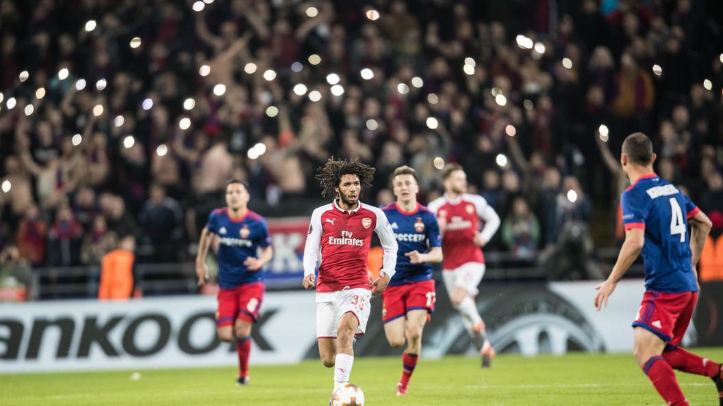 Эльнени стал лучшим игроком недели вЛиге Европы