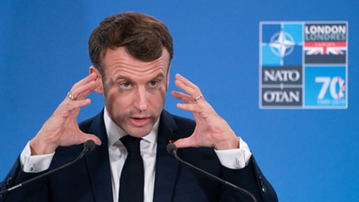 Что у Путина есть на тебя?: Макрон вычеркнул Россию из врагов НАТО и стал мишенью в Сети