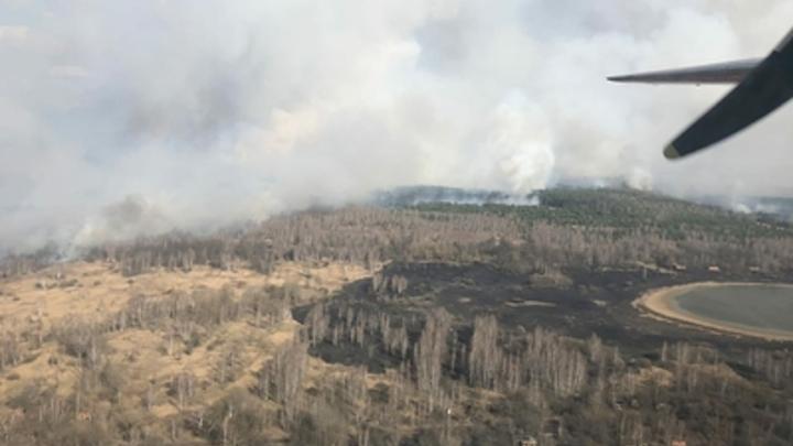 Курганская область получит 5 млн рублей из федерального бюджета, чтобы бороться с пожарами