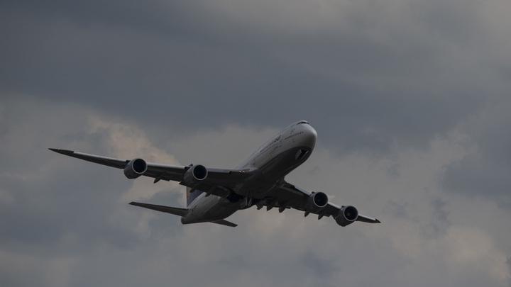 Окровавленный двигатель заставил отложить вылет авиалайнера из Москвы - источник