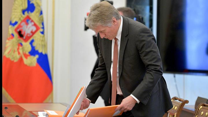 Мы пытались, но результатов нет: Песков о срыве переговоров по обмену Вышинского на моряков