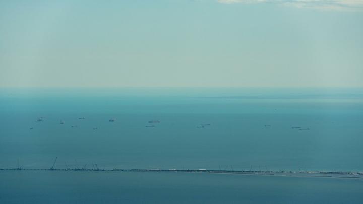 Впервые за 20 лет: Вода в Азовском море убежала на сотню метров от берега
