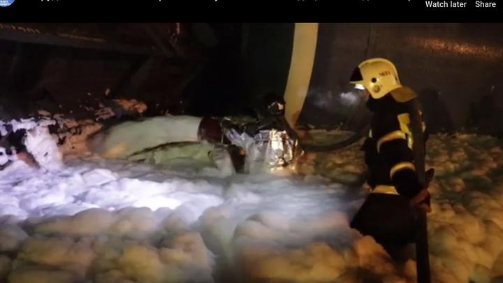 Авария на жд во Владимирской области: как ликвидируют разлив мазута