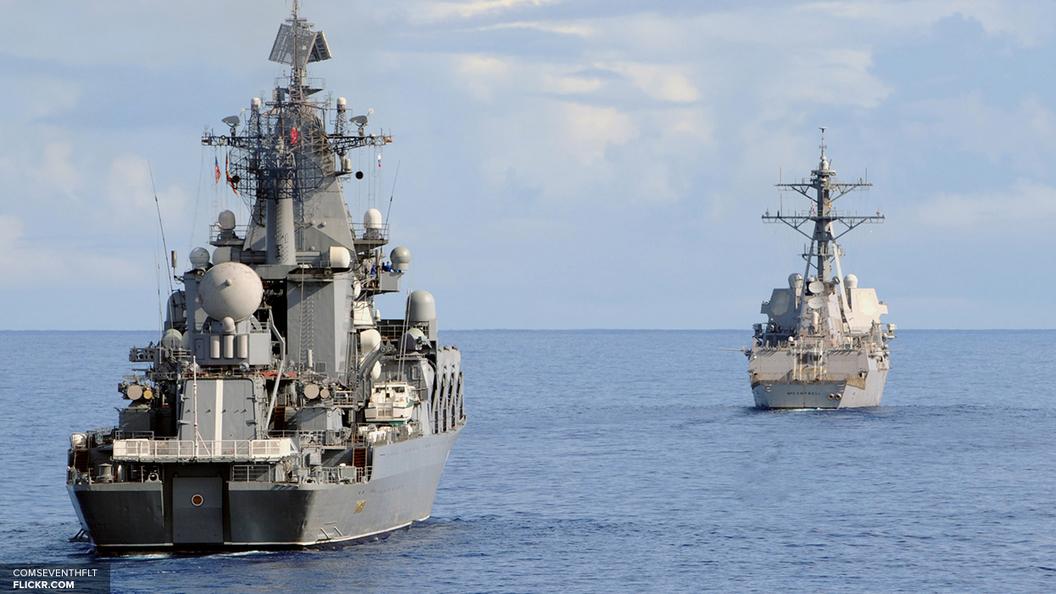 Военные корабли России зашли в Южную Корею