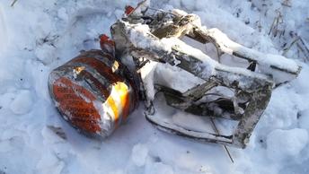 Зона поиска останков жертв крушения Ан-148 превысила 30 га