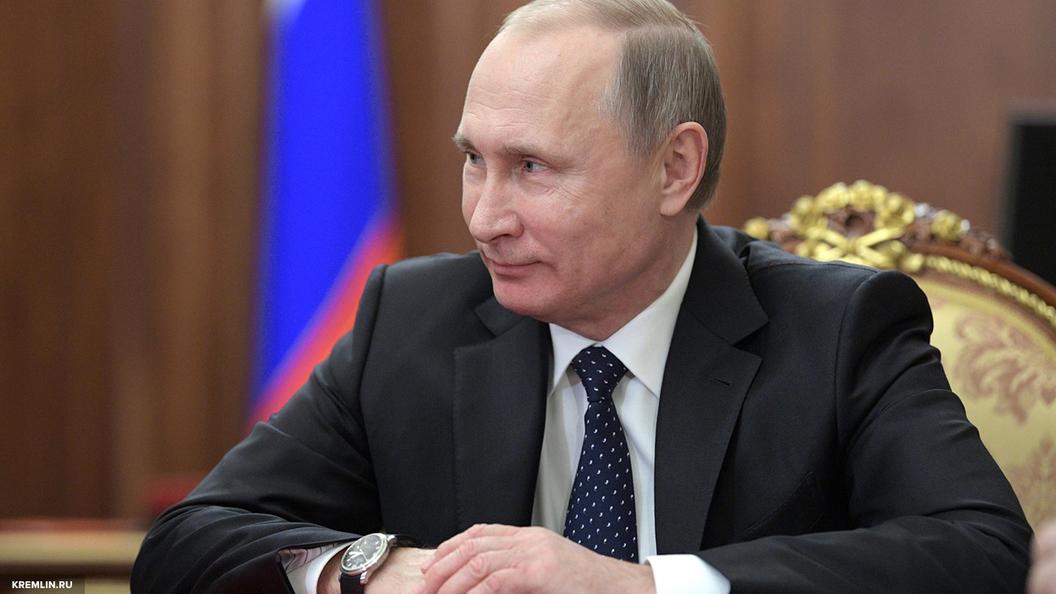 Стало известно, сколько денег заработал Путин в 2016 году