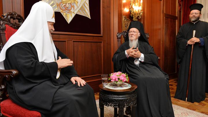 Константинополь опроверг заявления украинских СМИ о попытке отравить Патриарха