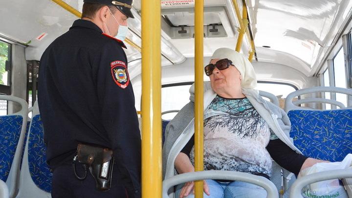 Маска есть! В кармане: В Ростове проверили соблюдение масочного режима в общественном транспорте
