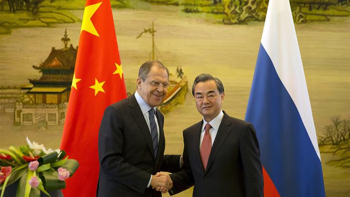 Россия встала на сторону Китая