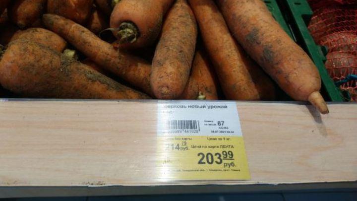 Варим борщ с персиками: после подорожания продуктов прокуратура Кузбасса проверяет магазины