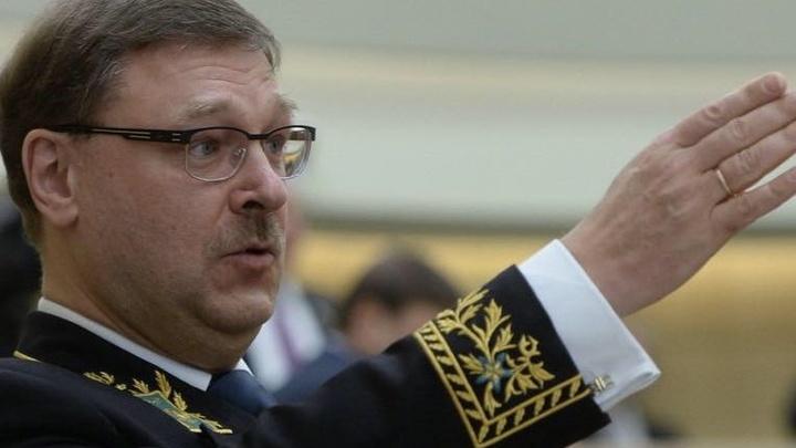 Косачев: Киев пытается сдвинуть линию соприкосновения, убивая мирных людей в Донбассе