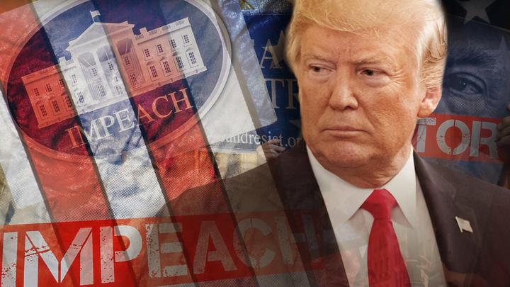 Трамп впервые допустил, что может стать жертвой импичмента