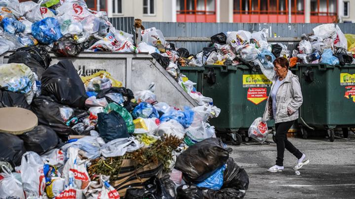 Апокалипсис по-уральски: Челябинск погряз в мусоре