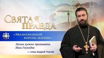 Молитвенный корень жизни: Зачем нужно призывать Имя Господне — отец Андрей Ткачёв