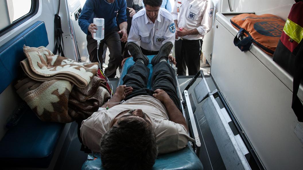 Неменее  360 человек пострадали при утечке хлора назападе Ирана