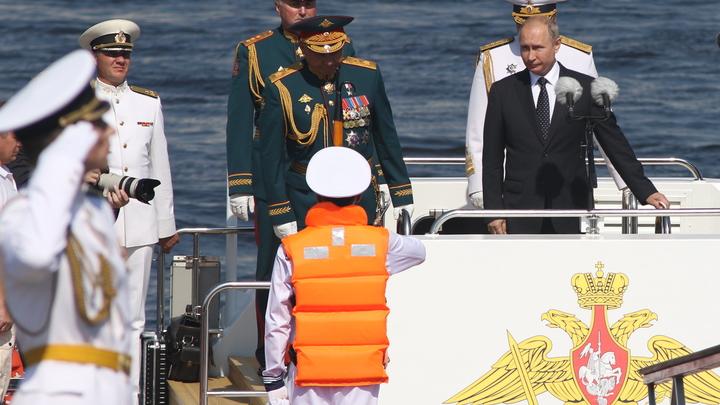 Что осталось за кадром парада ВМФ: Два слова от Шойгу облетели мир