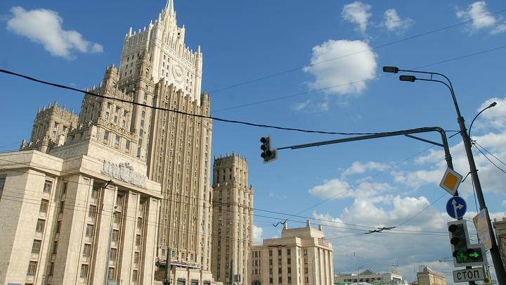 Вызванный в МИД РФ представитель Украины отмолчался на все вопросы о провокации в Керченском проливе