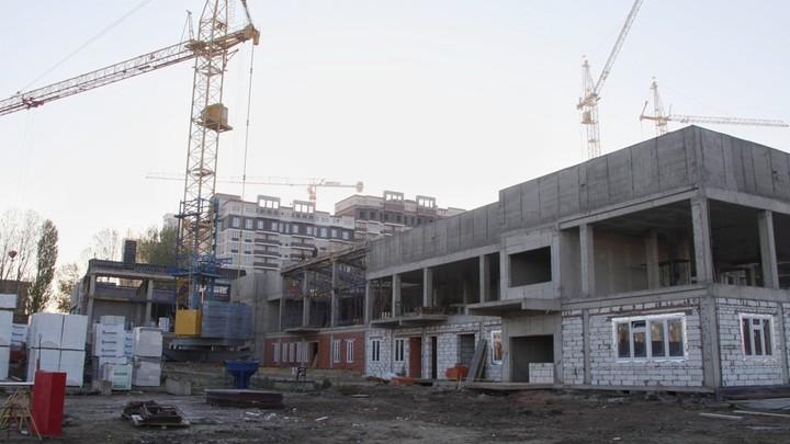 В Краснодаре детсад на улице Конгрессной достроят в мае 2021 года