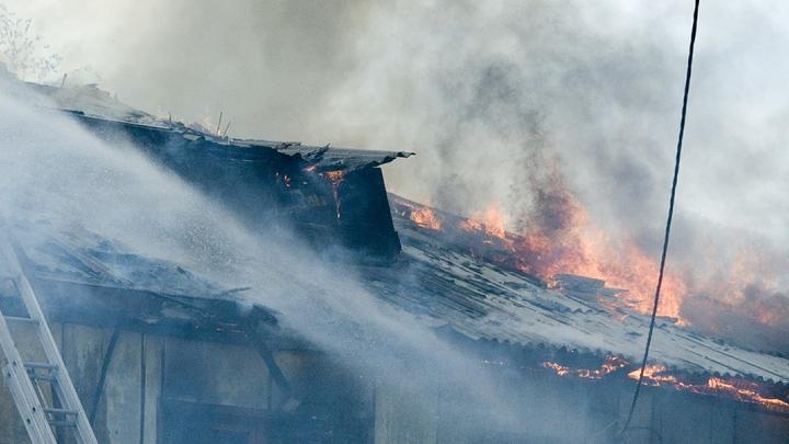 Мать успела спастись: При пожаре в Костромской области погибли три ребенка