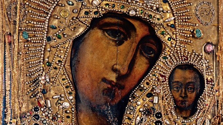 Патриарх и Папа подписали декларацию под взором православной иконы Казанской Божией Матери