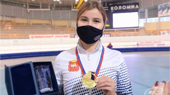 Звезда конькобежного спорта Ольга Фаткулина победила на чемпионате России