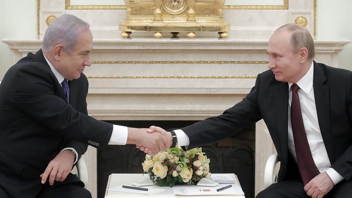 Навстречу выборам в кнессет: Нетаньяху рекламирует дружбу с Путиным огромным билбордом